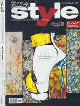 《Moda Pelle Style》意大利鞋包皮具专业杂志2012年10月号