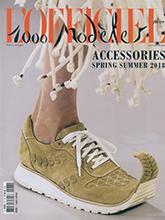 《L'officiel》法国巴黎版鞋包专业杂志2018年春夏号