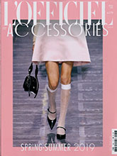 《L'officiel》法国版鞋包专业杂志2019春夏号