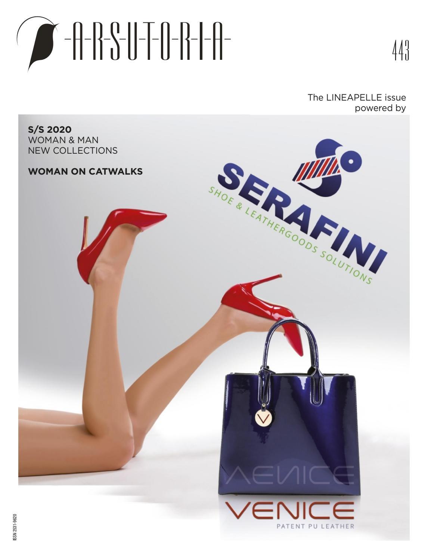 《Ars》意大利顶级专业鞋包杂志2019年10月号(#443)