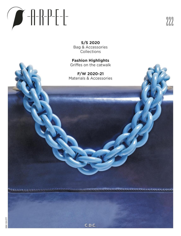 《Arpel》意大利顶级专业鞋包杂志2019年12月号(#222)