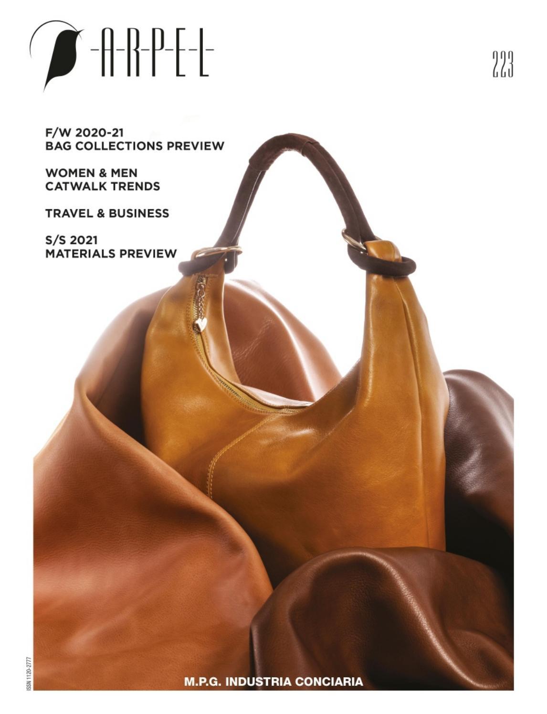 《Arpel》意大利顶级专业鞋包杂志2020年02月号(#223)